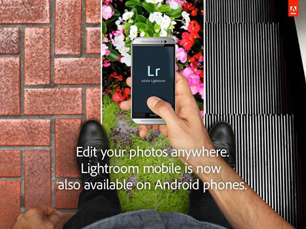 Disponible Lightroom Mobile para smartphones Android