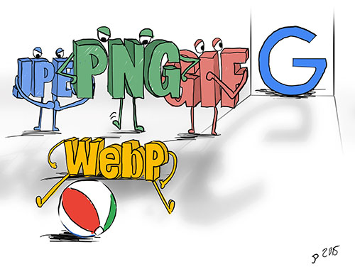 WebP alternativa para imágenes Web