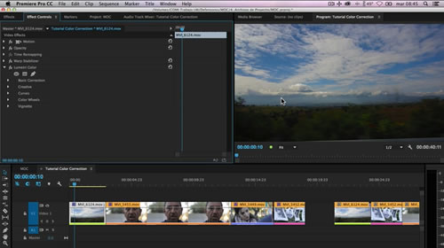 Tips del Panel Lumetri Color en Premiere Pro CC