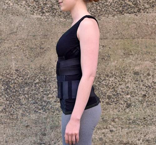 recoveryaid elite 2.0 womens posture training shirt