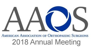 Visit our booth at AAOS!