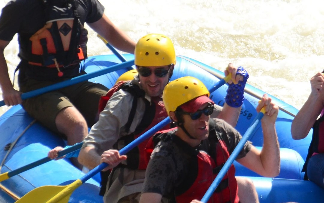 Aaron E can still go White Water Rafting in his ActivArmor!