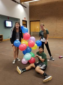 Can you build a balloon tower?