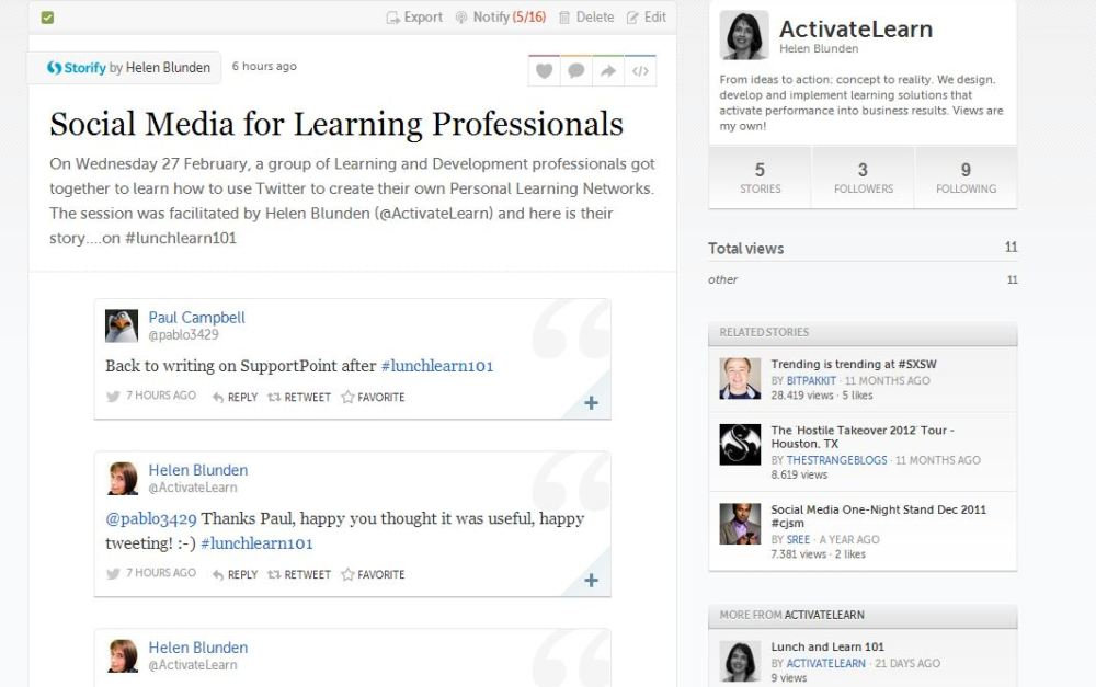 How to Promote Twitter for Professional Development to Your Colleagues and Other Stuff (2/2)