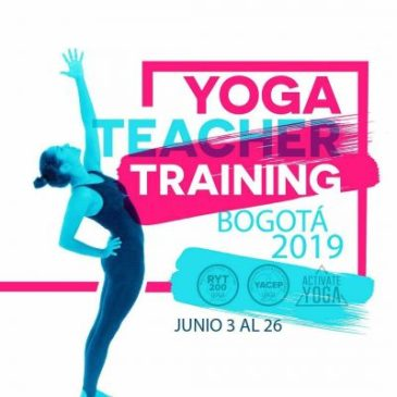 BOGOTA YOGA TEACHER TRAINING 2019