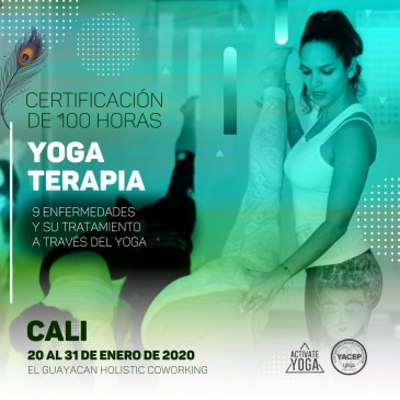 YOGA TERAPIA 100 HORAS – ENERO 2020