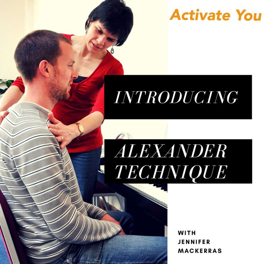 This is my audio download album image - a great way to guide your work between Alexander Technique lessons.