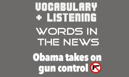 Obama takes on gun crime
