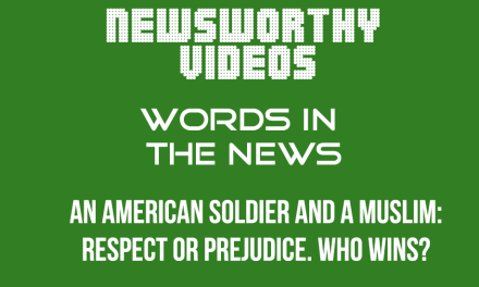 An American Soldier and a Muslim: respect or prejudice. Who wins?