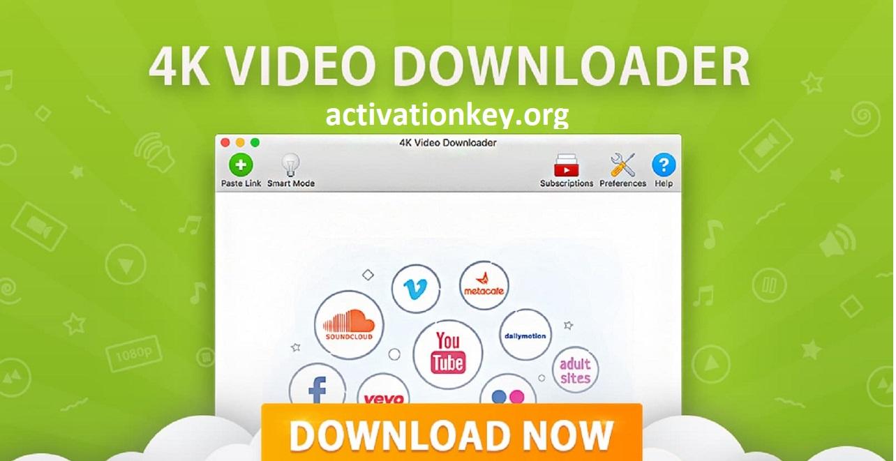 4K Video Downloader 4.11.3.3420 Crack + License Key [Latest]