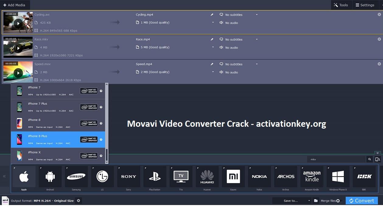 Movavi Video Converter 20.0.1 Crack Torrent Activation Key (2020)