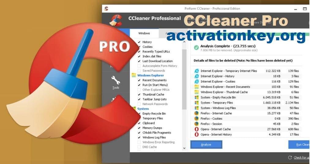 CCleaner Pro 5.67.7763 Crack + License Key 2020 Full Download