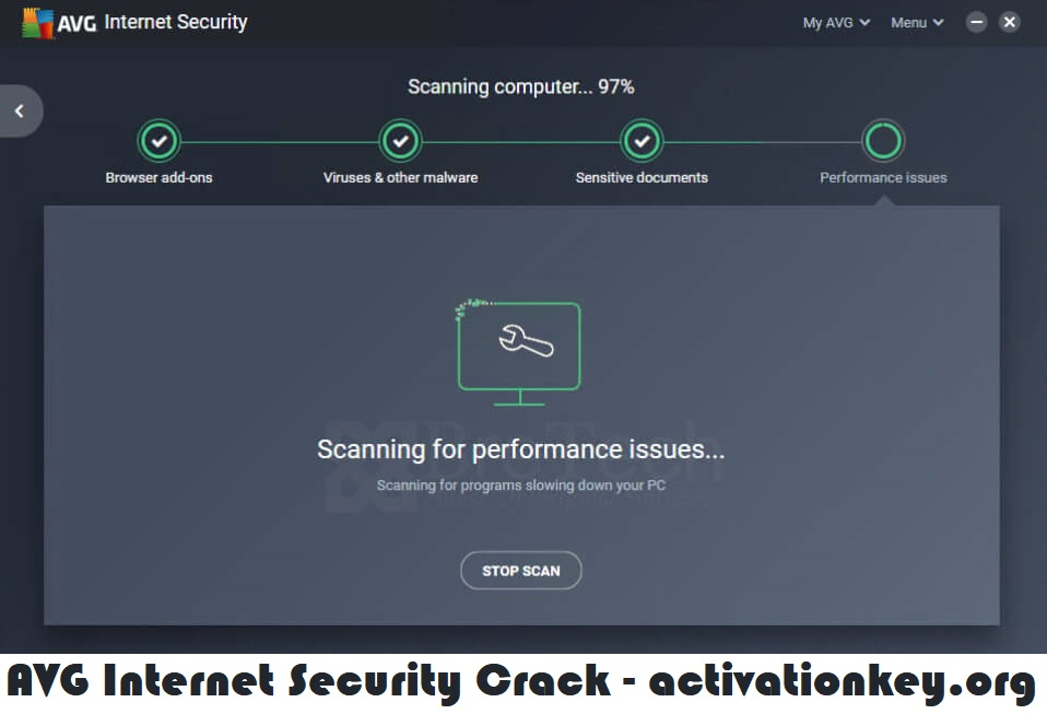 AVG Internet Security 2021 Crack + Serial Key [Activation]