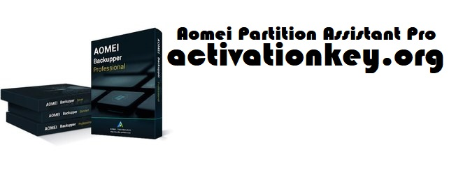 AOMEI Partition Assistant 8.8 Crack With License KEY [Latest]
