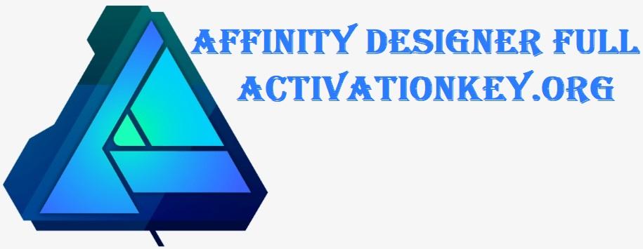 Serif Affinity Designer 1.6.2.97 Full Crack incl Serial Key (Free)