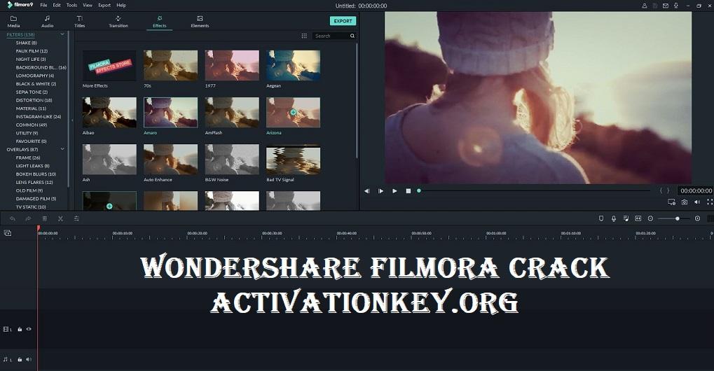 Wondershare Filmora Crack 9.4.7.4 Serial Key Download [Latest]