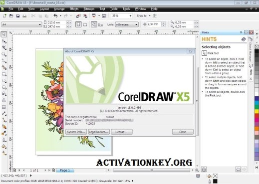 Corel Draw X5 Crack Full Version With Keygen Free Download