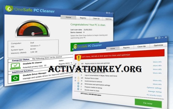 OneSafe Pc Cleaner License Key Pro 2020 Free Download
