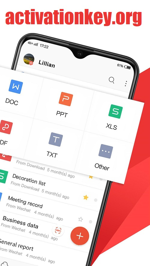 WPS Office APK Cracked For Android - latest version
