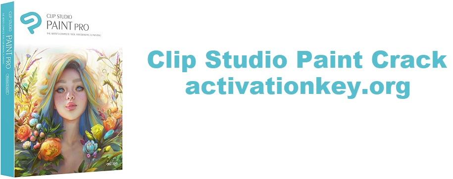 Clip Studio Paint Crack 1.9.11 Serial Key Free Download
