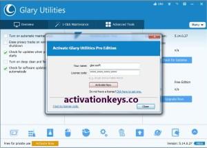 Glary Utilities Pro 5.171.0.199 Crack + Serial Key Latest Version (2021)
