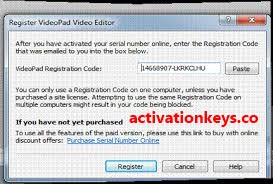 Videopad Video Editor 8.45 Crack & Keygen + Registration Code [Latest]