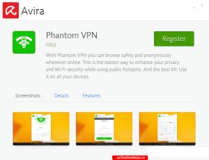 Avira Phantom VPN Pro 2.28.6.26289 Crack + Key Free Download [2019]