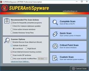 SUPERAntiSpyware Pro 10.0.1222 Crack With License Key [Latest] 2021