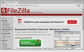 free download filezilla ftp server for windows 7 64 bit