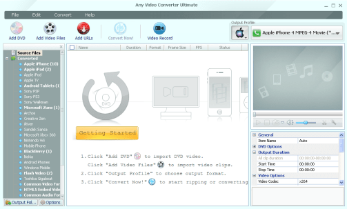Any Video Converter Ultimate 7.0.7 Crack + Serial Key Full (2020)