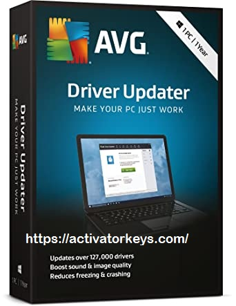 AVG Driver Updater Crack 2020 Activation Key Latest