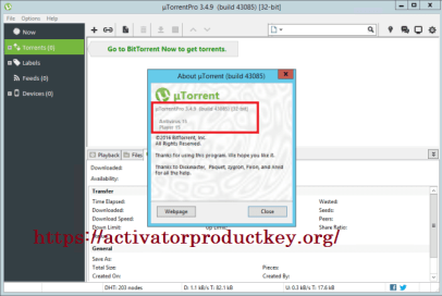 utorrent 3.5.1 activation key