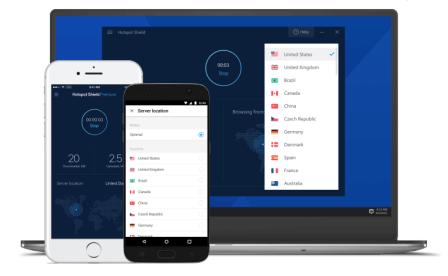 Hotspot Shield VPN Elite 8 Crack Full Keygen 2019 Free Download