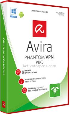 Avira Phantom VPN Pro Crack + Key