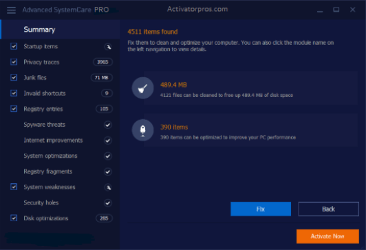 Advanced SystemCare Pro Keygen