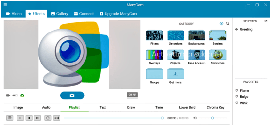 ManyCam 6.3.0 Crack - Screenshot [Activators Crack]