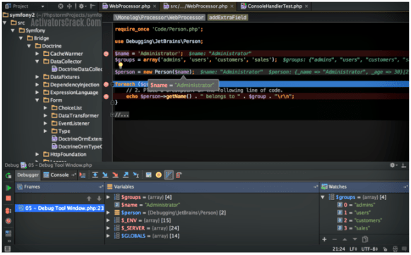 Screenshot - PhpStorm Crack + Activation Code