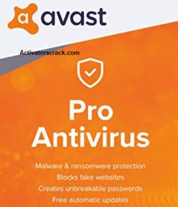 Avast Pro Antivirus Crack 2018