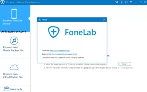 Aiseesoft FoneLab Registration code free