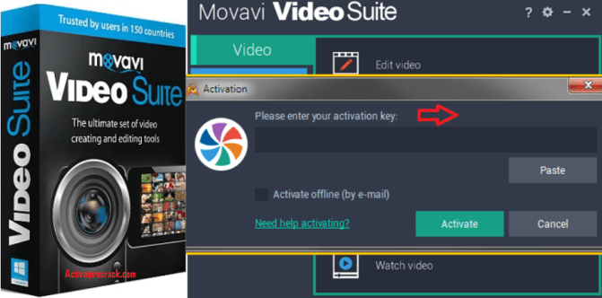 Movavi Video Suite Activation key