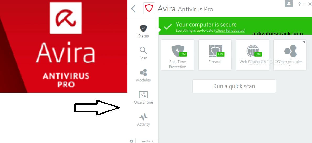 Avira Antivirus Pro 2019 keygen
