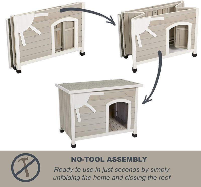 MidWest Homes for Pets Eilio Outdoor Dog House 1