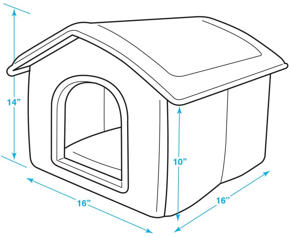 Portable Indoor Pet House by Best Pet Supplies Inc 1