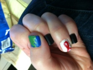 World AIDS Day Nails