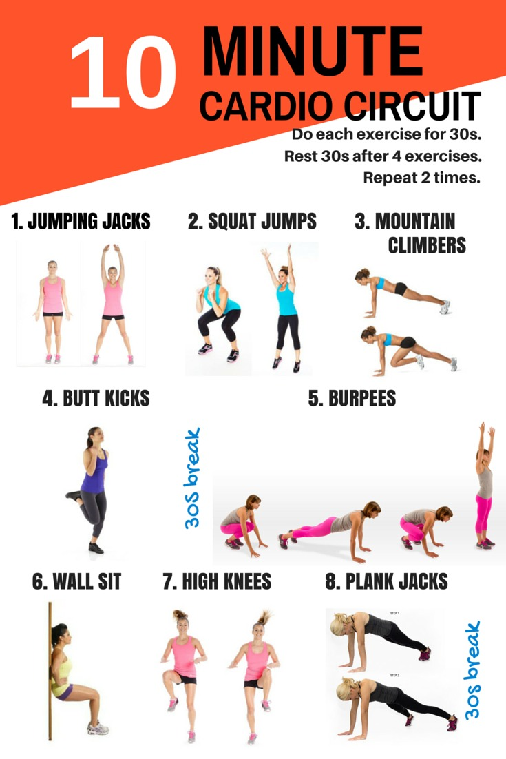 10Minute Workouts For Busy People Who Want a Better Body