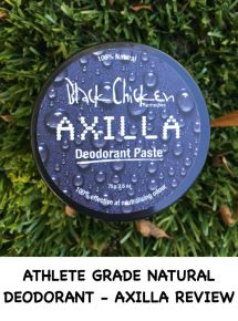 Athlete Grade Natural Deodorant - Axilla Review