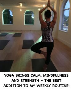 Yoga brings calm, mindfulness and strength - the best addition to my weekly routine!