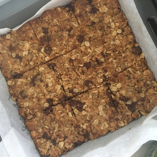 Athlete Nutrition - Oat slice - great pre-race fuel or snack