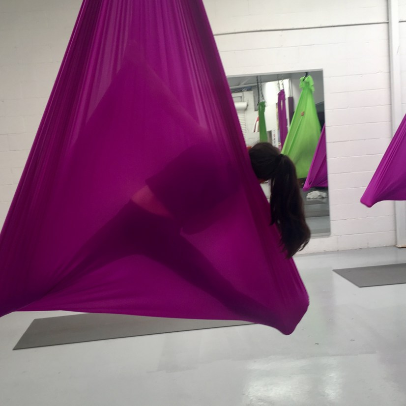 How to up your fun with Aerial Yoga at The Yoga Shed!