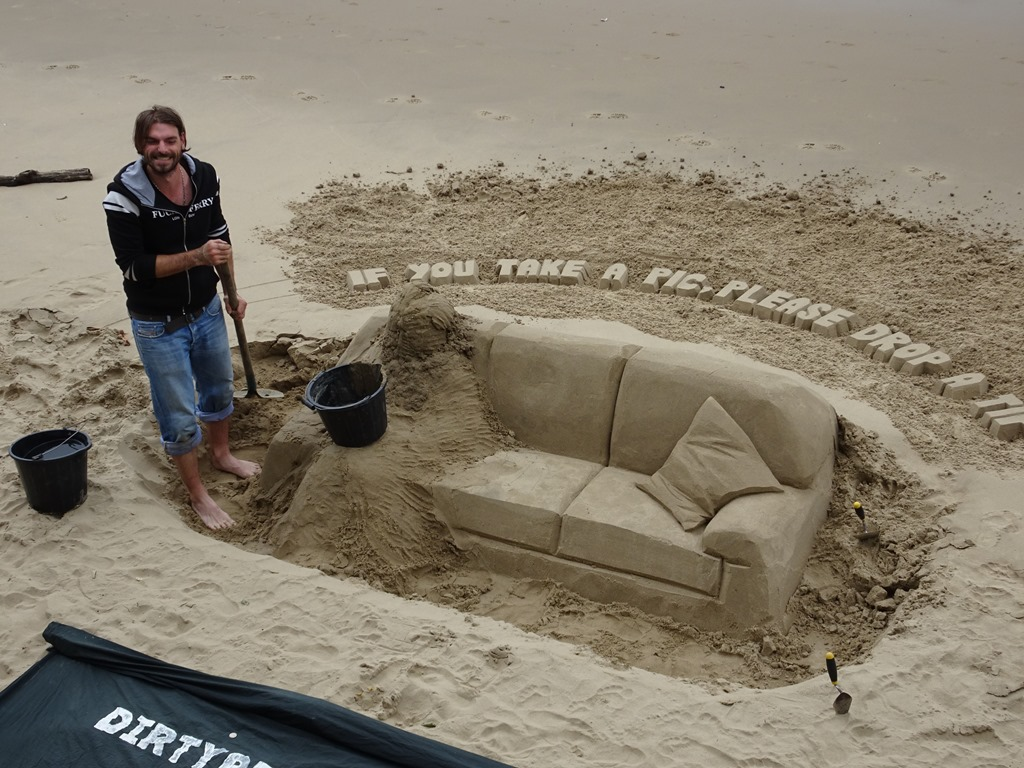 Big Sofa Sand Strolling Other London Sites Active Boomer Adventures